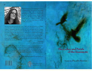The Lobes and Petals of the Inanimate by Phoebe Reeves